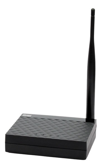 Roteador/Repetidor/Access point Maxprint 150AF Preto 110V/220V