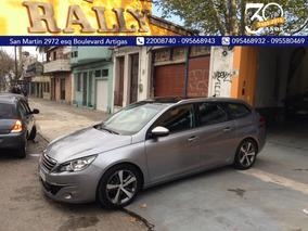 Peugeot 308 Sw Año 2016 Entrega U$s12500 Y Ctas