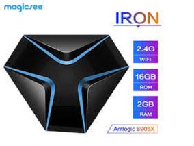 Magicsee Iron S905x 2gb De Ram +16 Gb De Memoria