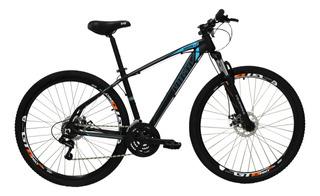 Bicicleta Aro 29er 21 Vel Preto/azul High One Revolution