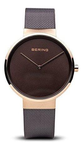 Bering Time 14539-262 - Reloj Delgado Unisex, 39 Mm, Colecci