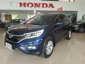 Honda Cr-v Ex Modelo 2015 Color Azul Obsidian