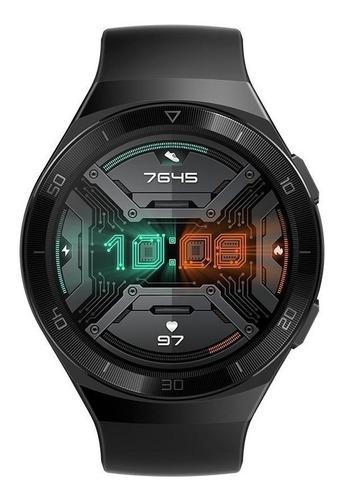 """Huawei Watch GT 2e 1.39"""" caja 46mm de  metal y plástico  black stainless steel malla  graphite black de  fluoroelastómero HCT-B19"""