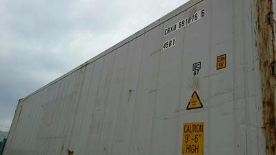 Contenedor Refrigerado Reefer Camara De Frio Container 40pie