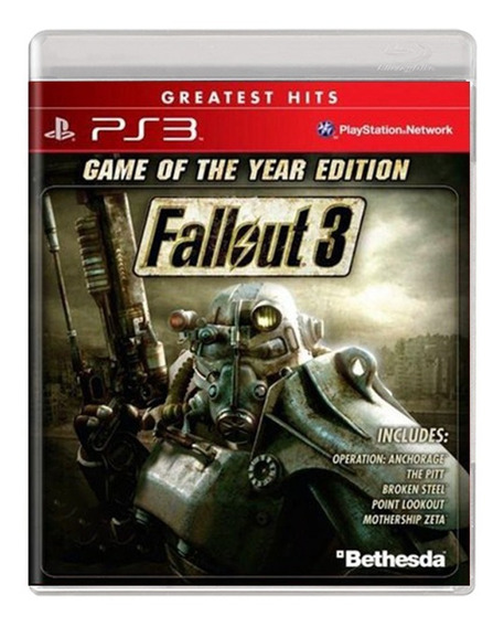 Fallout 3 Game Of The Year - Ps3 - Usado - Original