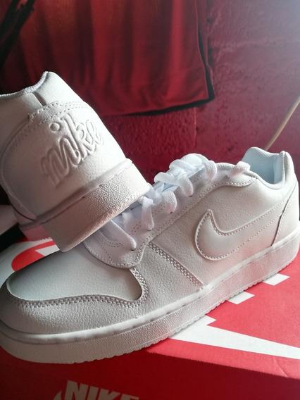 Tenis Nike Ebernon Blancos Originales Nuevos En Caja