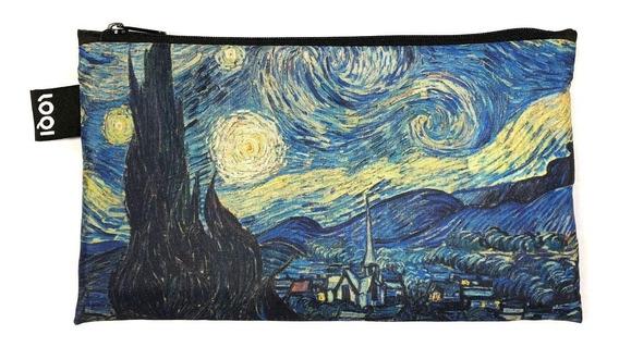 Cartuchera En Tela La Noche Estrellada Van Gogh