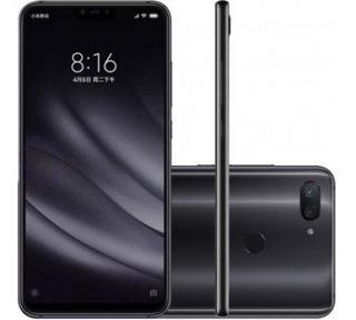 Celular Xiaomi Mi 8 Lite Preto 64gb / 4gb Ram+ Capa