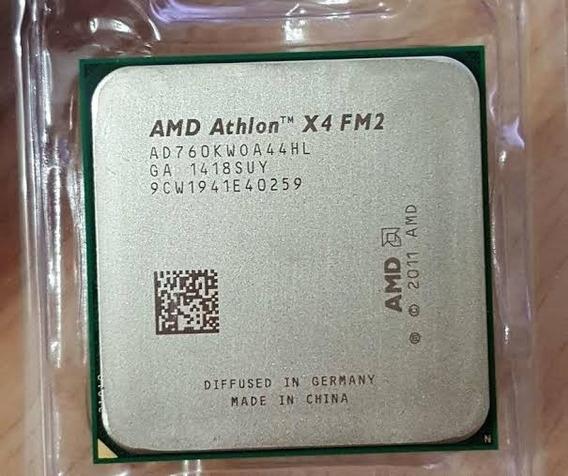 Processador Atlon X4 760k 3.8 Ghz Quadri Core Soket Fm2 Amd