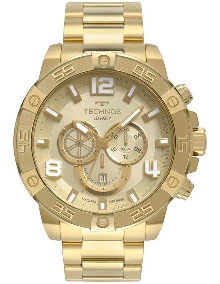 Relógio Technos Masculino Legacy Dourado Os2abn4x