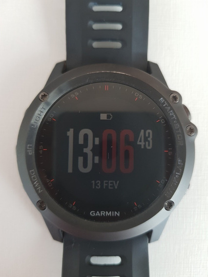 Relógio Garmin Fênix 3 Usado Em Ótimo Estado