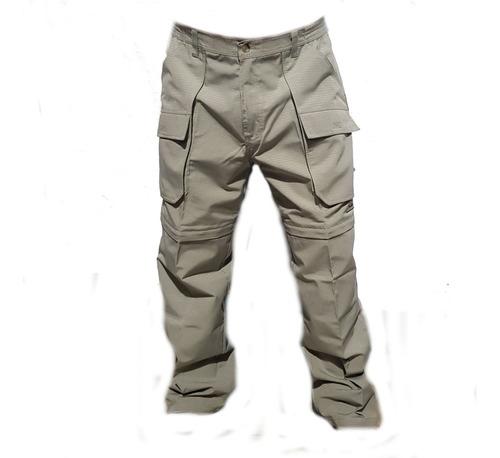 Pantalon Desmontable Marca Explora. Ripstop Antidesgarro.
