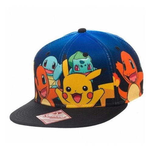 Gorra Pokemon Original
