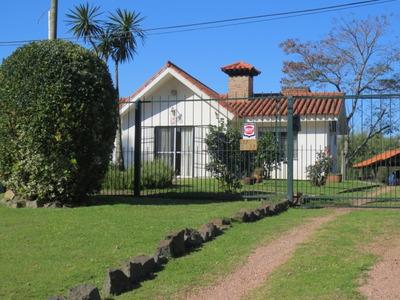 Chale De Tejas + Barbacoa Con Habitacion Y Baño.apta Banco