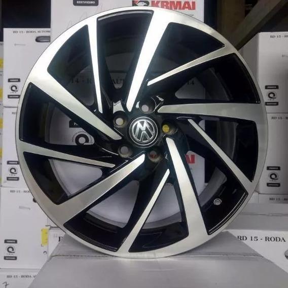 Kit 4 Rodas R93 Novo Polo Aro15x6 5x100/4x100
