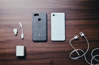 Google Pixel 3 Xl + Case Original + Google Fone ( Leia )