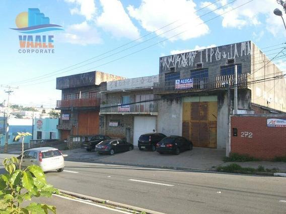 Galpão À Venda, 750 M² Por R$ 1.800.000 - Jardim Nova Europa - Campinas/sp - Ga0248