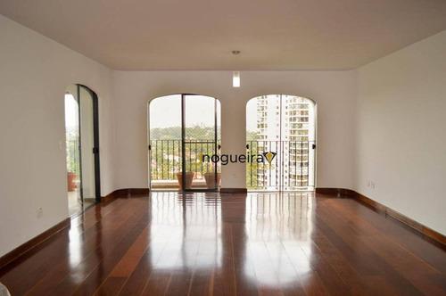 Imagem 1 de 30 de Apartamento Com 4 Dormitórios Para Alugar, 288 M² Por R$ 8.730,00/mês - Jd Marajoara - São Paulo/sp - Ap15497