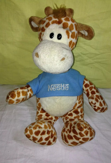 Pelúcia Girafa Galera Filhotes Animal Nestle