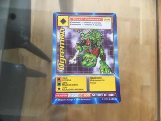 Carta Coleccionable Digimon Ogremon