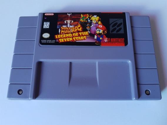 Super Nes: Super Mario Rpg Legend Of Seven Stars Original!!
