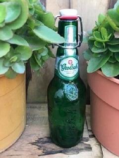 Botella De Vidrio Vacia Grolsch 450ml