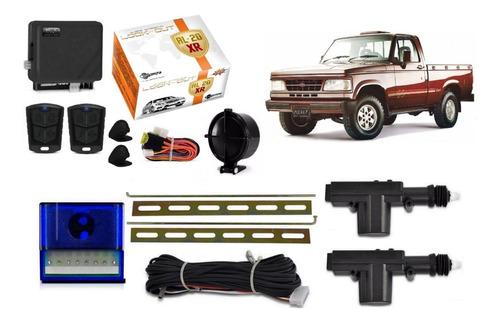 Kit Trava Eletrica + Alarme A10 Bonanza D20 2 Portas