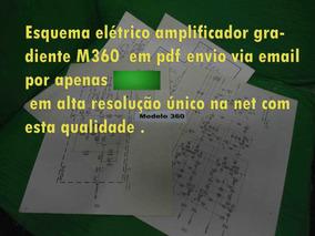 Esquema Gradiente M360 M 360 Modelo360 Modelo 360 360 Em Pdf