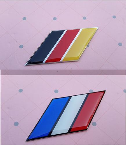 Bandera Alemania -francia Tuning Emblema