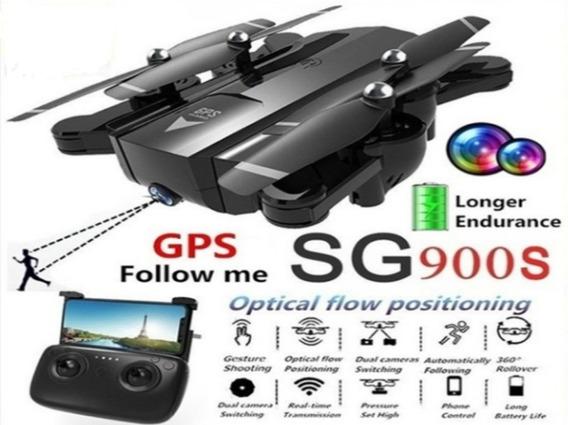 Drone Sg 900 S Gps 2 Câmeras Hd Imagem Fpv Original