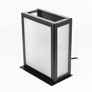 Farol De Pared Decorativo Exterior Vidrio Blanco E27 24x19cm