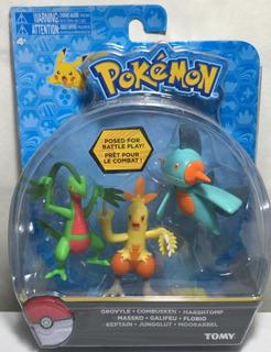 Pokemon Figuras De Batalla Surtidos X3 18524 Srj