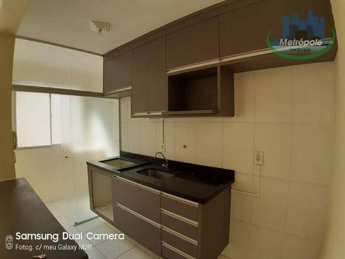 Apartamento Com 2 Dormitórios À Venda, 45 M² Por R$ 200.000,00 - Jardim Adriana - Guarulhos/sp - Ap1216