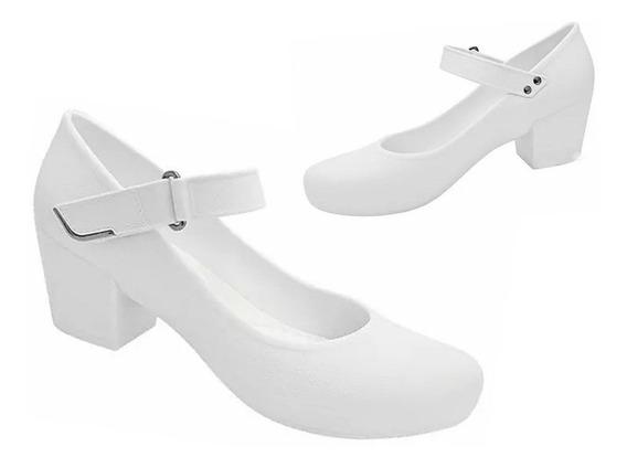 Sapato Boa Onda Branco Antiderrapante Frete Livre 008327