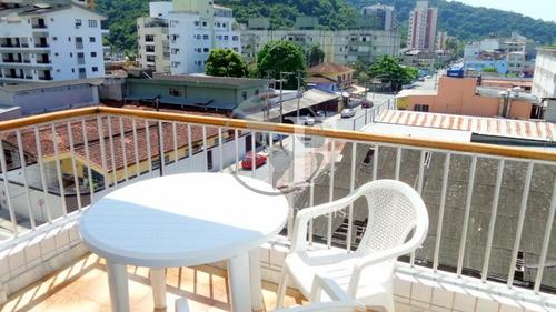 Apartamento Com 2 Dormitórios À Venda, 70 M² Por R$ 270.000 - Praia Da Enseada - Rufinos - Guarujá/sp - Ap9235