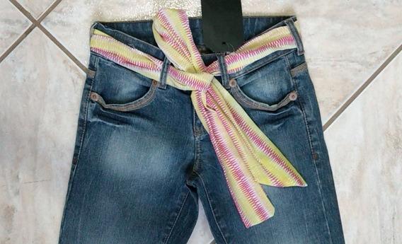 Calça Jeans Feminina Da Zoomp Ref. 730110211