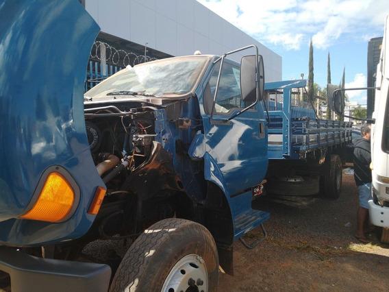 Ford F.12000/99/00 Azul Toco Carroceria De Madeira