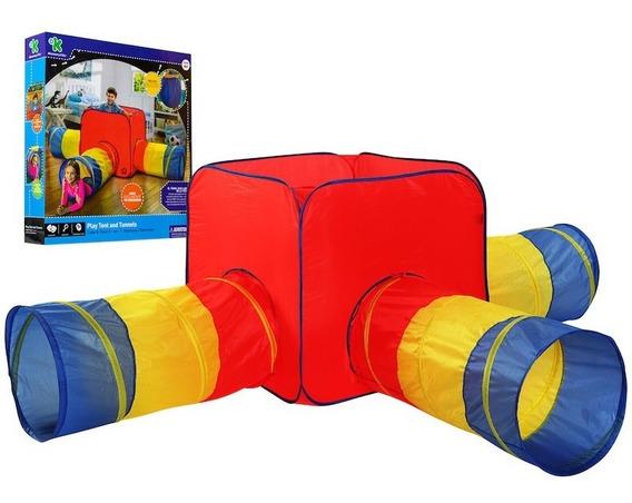 Tienda 3 Tuneles Plegable Niño Juguetes Discovery Kids