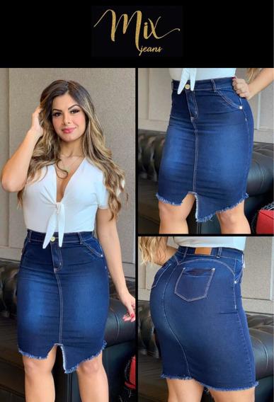 Saia Jeans Mix