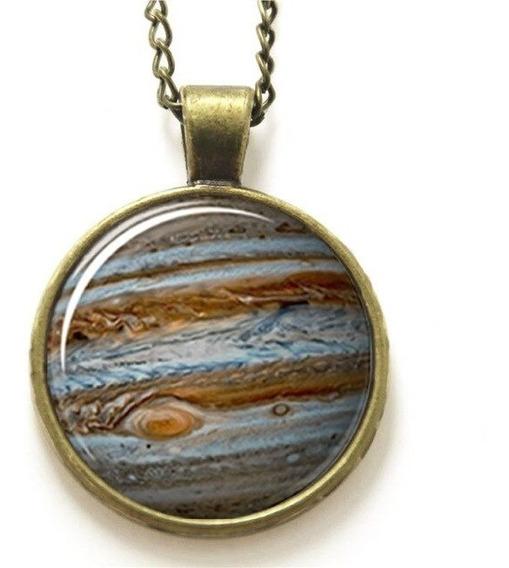 Colar Cúpula De Vidro Fenômeno Jupiter