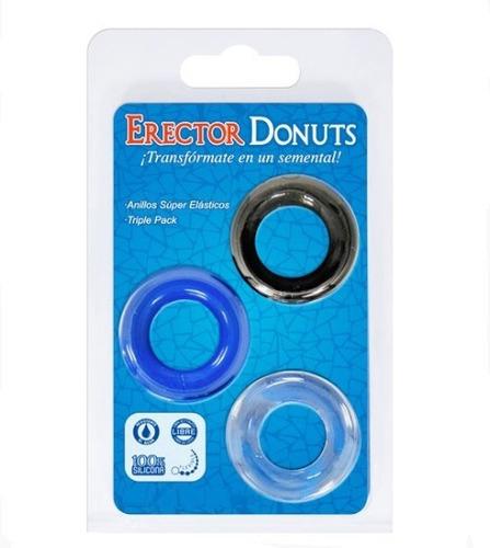 Anillos Peneano Donuts /sexshop Placer Erótico