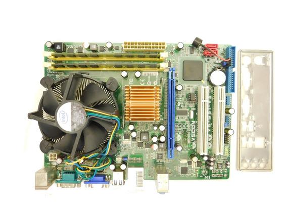 Kit Placa Asus Vs-g31-va Dual Core E5400 2.7ghz 2gb Ddr2