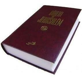 A Bíblia De Jerusalem Paulos Editora / Média Encadernada