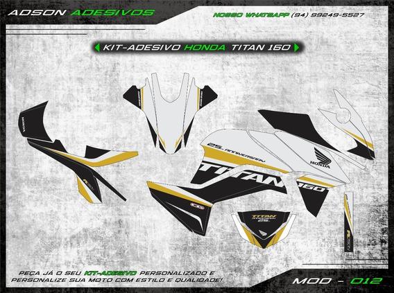 Kit Adesivo Honda Cg Titan 160