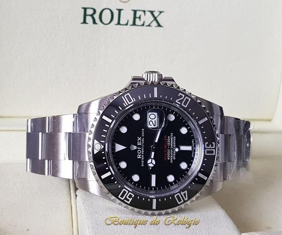 Relógio Eta - Mod Sea-dweller Dial Preto - Arf V2 Aço 904l