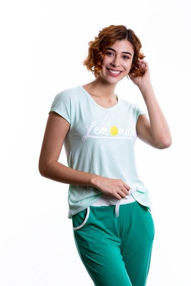 Pijamas Para Damas Conjunto Franela Y Pantalon Paulinas