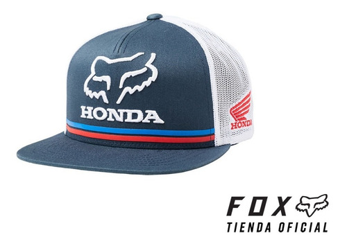 Gorra Fox Honda Snapback  #22996-007 - Tienda Oficial