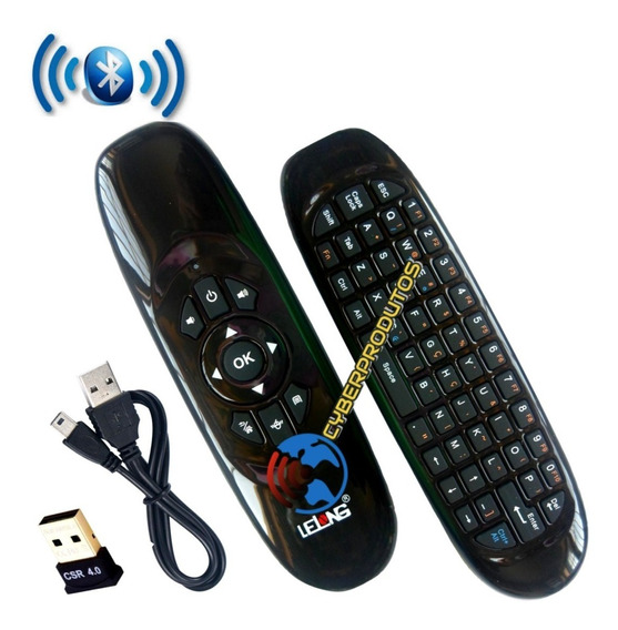 Mini Teclado Sem Fio Para Tv Sony / Toshiba Smart Tv