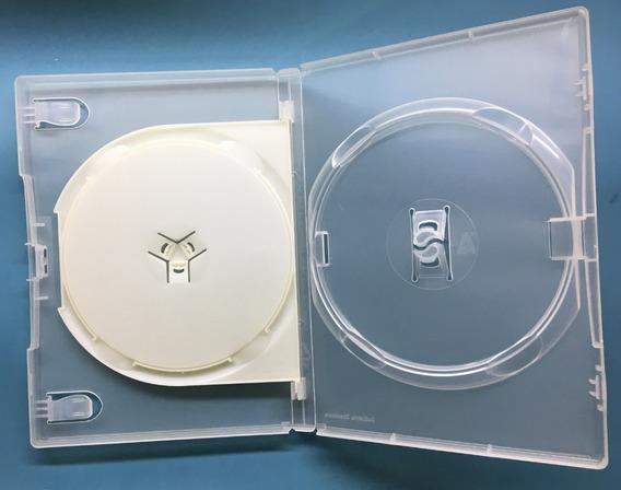 Capa Para Dvd Duplo Transparente - Kit Com 8 Unidades