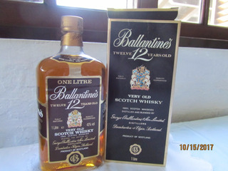 Whisky Scotland Ballantines 12 Twelve Years Old Con Caja